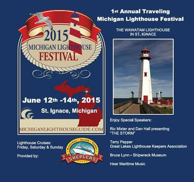 Fun Lighthouse Festival in St. Ignace, Michigan