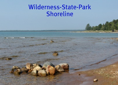 Wilderness State Park in northern Michigan is on the shores of Lake Michigan