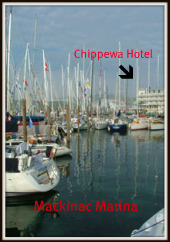 Chippewa Hotel Mackinac Island on Waterfront