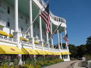 A Grand Hotel Mackinac Island Honeymoon is spectacular.