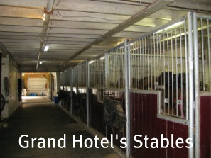 Grand Hotel Stable for Their Horses