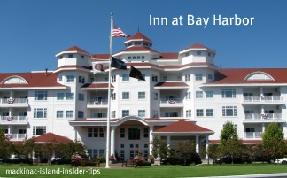 Inn at Bay Harbor in Bay Harbor Michigan on Lake Michigan.