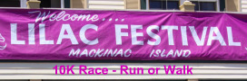 Mackinac Island Lilac Festival Events are many and great fun.