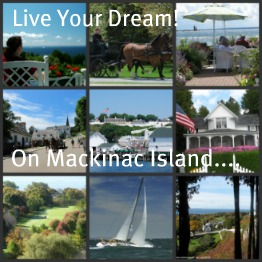 Mackinac Island Is a Dream Vacation spot in beautiful northern Michigan.
