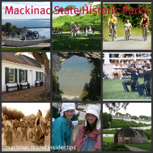 Mackinac State Historic Parks are two premier State Parks and Six Museums