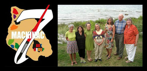 Michigan Artists Group Called Mackinac 7 Are Pure Michigan!