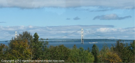 Straits of Mackinac and Mackinac Bridge