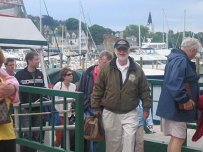 Jim's Mackinac Island Arrival