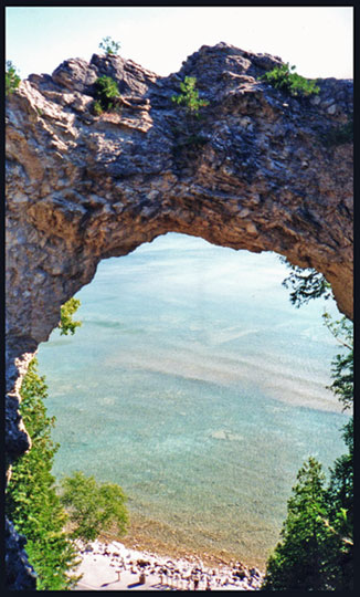 Arch Rock Mackinac Island Michigan