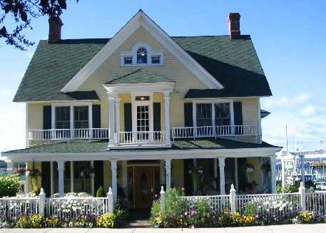 Bay View Bed And Breakfast Best Mackinac Island Hotel Next To