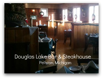 Scrumptious steaks and ribs at the Douglas Lake Bar and Steakhouse.