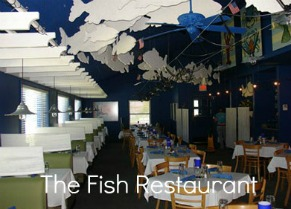 The Fish Restaurant is located just north of Harbor Springs Michigan.