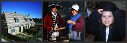 Fun activities for Young and Old in Colonial Michilimackinac