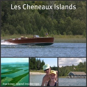Les Cheneaux Islands a premier place of water, islands, forests and blue Michigan skies!