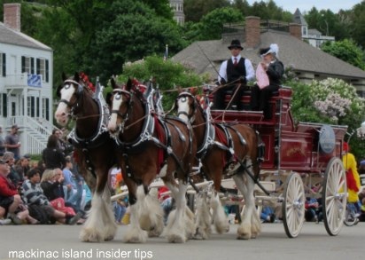 Mackinac Island Lilac Festival Parade 2011 was simply grand!