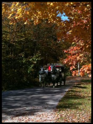 Fall Day on Mackinac Island