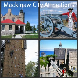 Mackinaw City has many historic places to visit for young and old to enjoy.