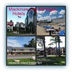 Mackinaw City Michigan hotels are great economical choices