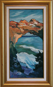 Marta Olson is a member of the accomplished Mackinac 7 Art Group