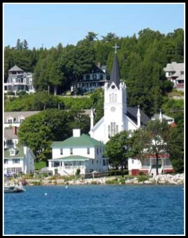 Saint Ann's Church Mackinac Island