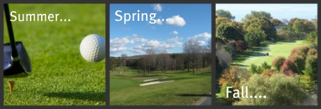 Golf-Spring, Summer and Fall