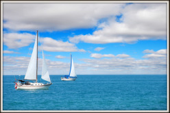 Great Lakes Sailing to Mackinac Island Is a sailor's dream vacation.