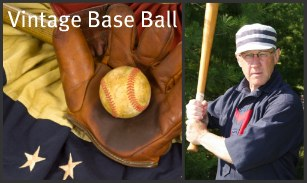 The Vintage Base Ball Game on Mackinac Island is a Favorite Event.