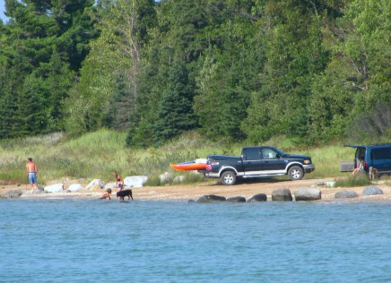 Wilderness State Park  campingMichigan shoreline has terrific recreational activities.
