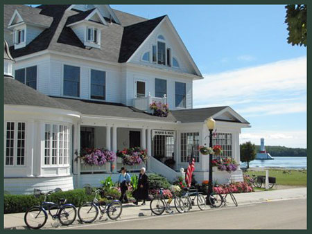 Iroquois Hotel on beautiful Mackinac Island