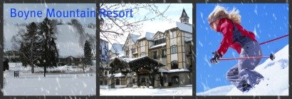 Boyne Mountain Ski Resort Has Superb Outdoor Winter Activities for Young and Old as well as Super Indoor Fun.