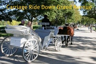 Take a carriage ride around the island after your wedding - truly a memorable time for the new couple.