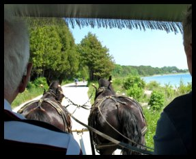 Carriage Rides on Mackinac Island