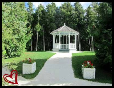 Gazebo from Somewhere In Time film