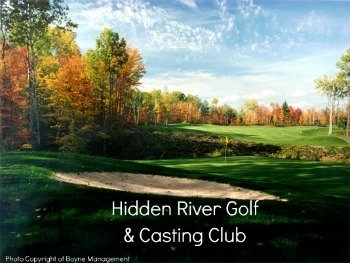 Hidden River Golf Course is on the Maple River
