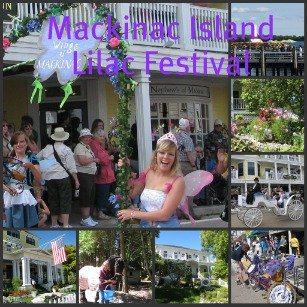Fun filled activities for Ten Days during the Mackinac Island Lilac Festival.