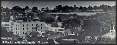 Mackinac Island historic view