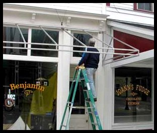 Mackinac Island Painter
