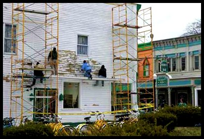 Mackinac Island painters