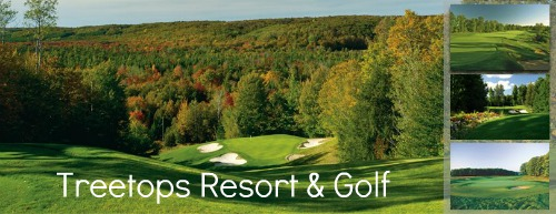 northern Michigan golf courses are superb