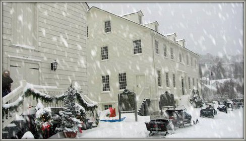 Mackinac Island Winter